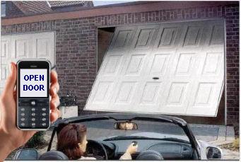 Votre gsm devient une t l commande pour porte de garage et for Telecommande de porte de garage